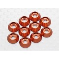 Anodised Aluminum M3 Sockethead Washers (Orange) (10pcs)